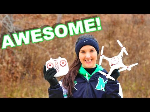 Amazing Camera Drone For Beginners - SYMA X5UC Remote Control Quadcopter -...
