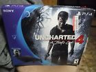 Sony PlayStation 4 PS4 Slim Black Console Uncharted 4: A Thief's End...