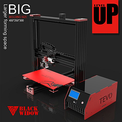 TEVO Black Widow Aluminum Prusa i3 3D Printer – Auto Levelling...