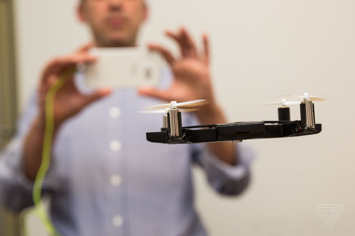 This dentist quit his day job to build a flying phone case drone...