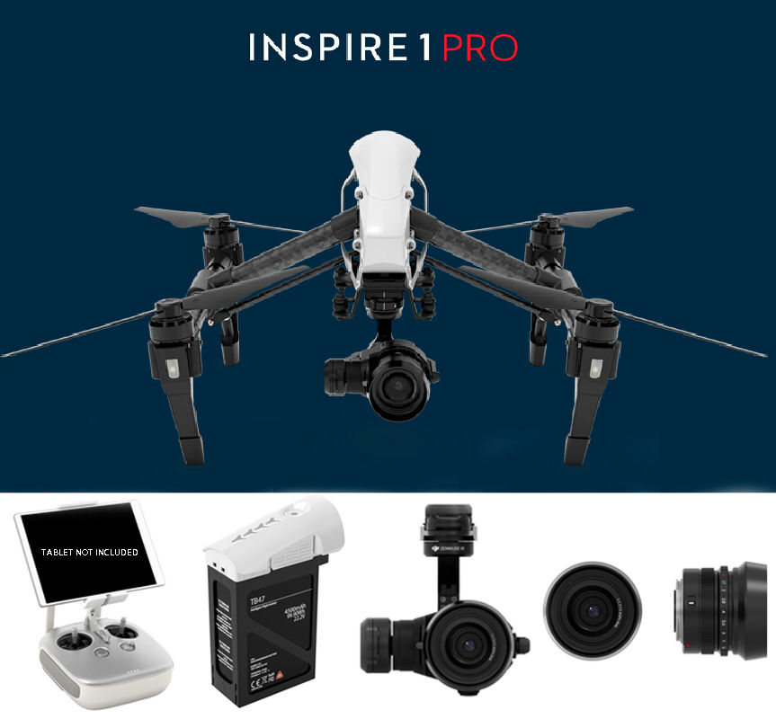 DJI Inspire 1 Pro Black Edition RC Drone | Radio Control Drones For ...