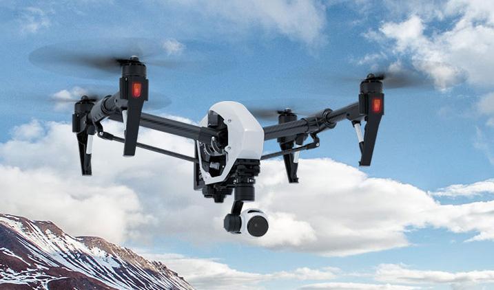 DJI Inspire 1 rtf pro aerial film machine