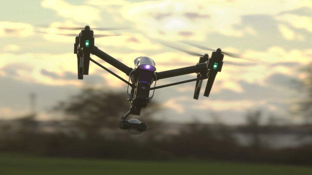 Flying the DJI Inspire 1 at Intel's Drone Club in Santa Clara - Mobile ...