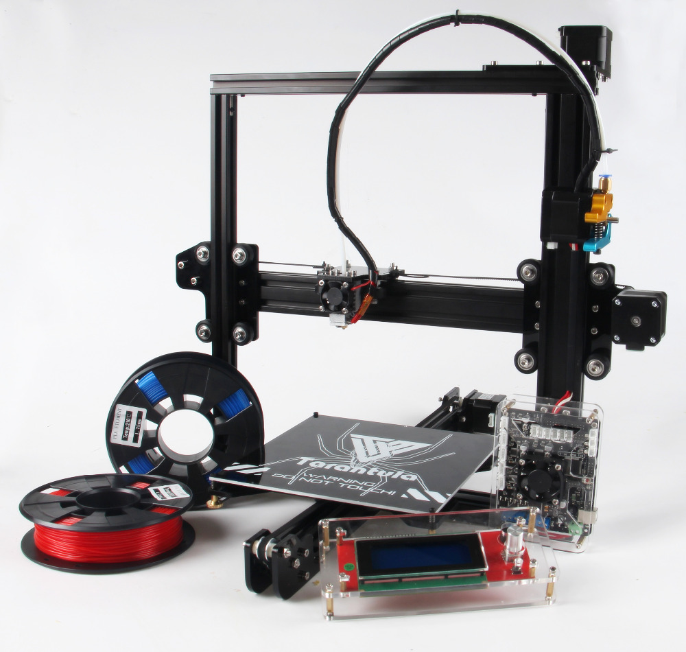 Newest TEVO Tarantula I3 Aluminium Extrusion 3D Printer kit printer 3d ...