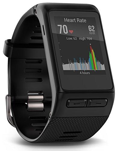 Garmin Vivoactive HR GPS Smart Watch, WW, Regular Fit - Black -...